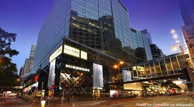 tsim sha tsui shopping mall